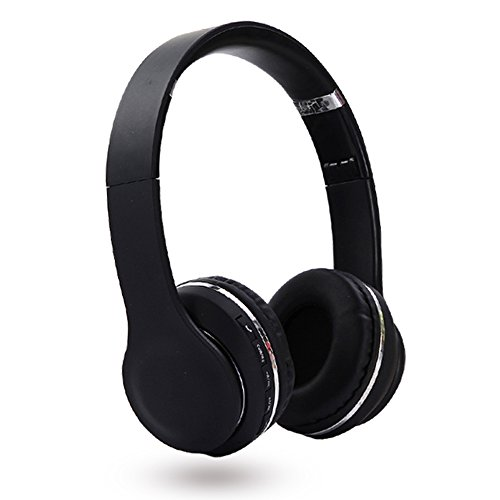 Discover Bargain Airfrex Foldable Over Ear Wireless Bluetooth Headphone with Mic and Control Buttons...