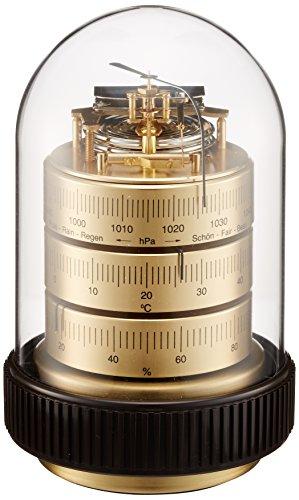 Barigo Estación Meteorológica de Mesa con Barómetro de Precisión Latón