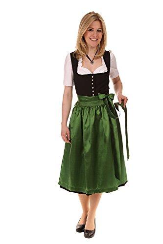Königssee Tracht Damen Dirndl Midi 65-70cm D611014 Amy Knopf 70cm