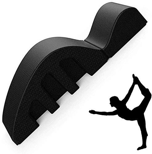 Hammer Multipropósito Pilates Arco Spine Corrector, Masaje Arco Pula Cama, Mesa Spine Corrector Dolor de Espalda Cuerpo Manual de la Columna Vertebral Cervical Corrección Corrección, Negro