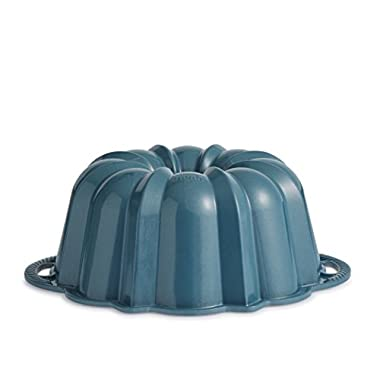 Nordic Ware Exclusive Bundt and Bundt Bag, Metallic Blue
