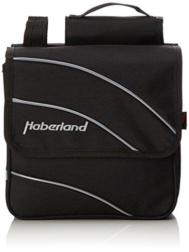 Haberland Kim Doppeltasche, schwarz, 28 x 28 x 11 cm