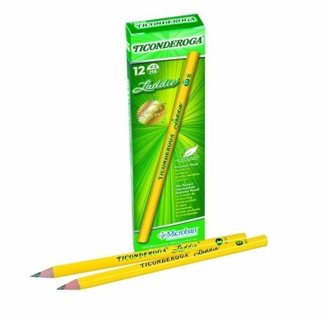 Price comparison product image Dixon Ticonderoga 13040 Ticonderoga Laddie Woodcase Pencil Without Eraser