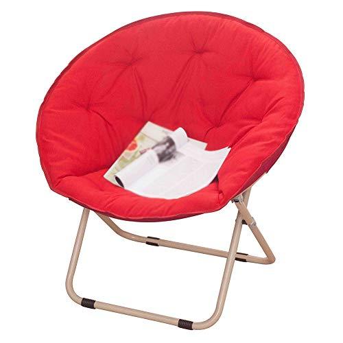 Klappstühle Garten, Moon Chair,aufrecht stehender Baumwollfüllung,runder Outdoor-Stuhl,Indoor,Radar Chair