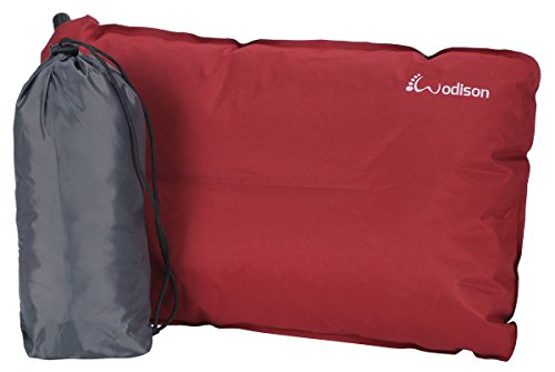 WODISON Lightweight Compressible Camping Travel Inflatable Pillow Comfort Cover