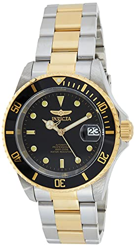 Invicta Men's Pro Diver 40mm Steel and Gold Tone Stainless...