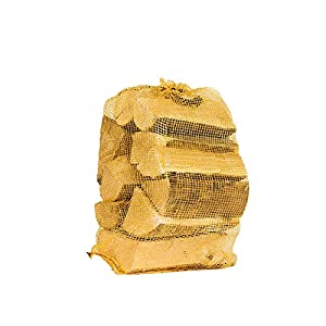 ROBLE 22l maderas de leña secadas al horno. Leña perfecta para quemadores de madera, estufas de leña, chimeneas, hornos para pizzas - Entrega rápida