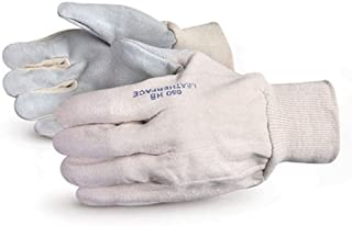 Superior SPWWHD Rhino Dyneema//Stainless-Steel Wirecore Composite Knit Glove with One Sided PVC Dotted Work Medium Cut Resistant 7 Gauge Thickness White Superior Glove Works Ltd SPWWHDRH//M Right Hand