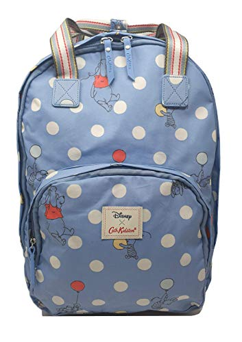 Cath Kidston Disney Rucksack mit Mehreren Taschen, Motiv: Winnie Puuh, Blau