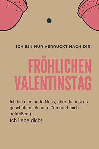 fröhlichen Valentinstag Notizbuch. / Valentinstagsgeschenk für Ihren Partner: Valentinstag Liebe Geschenk