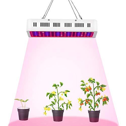 ZJING LED Pflanzenlampe 135W, LED Grow Lampe Vollspektrum, Pflanzenlicht Mit 170 LEDs, Grow Light Full Spectrum Für Zimmerpflanzen, Gewächshaus Gemüse, Blume