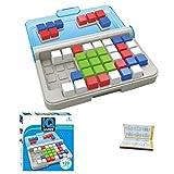 Hahepo Juguete educativo IQ 3D, puzzle, lógico, geometría, juego de estrategia para todas las edades