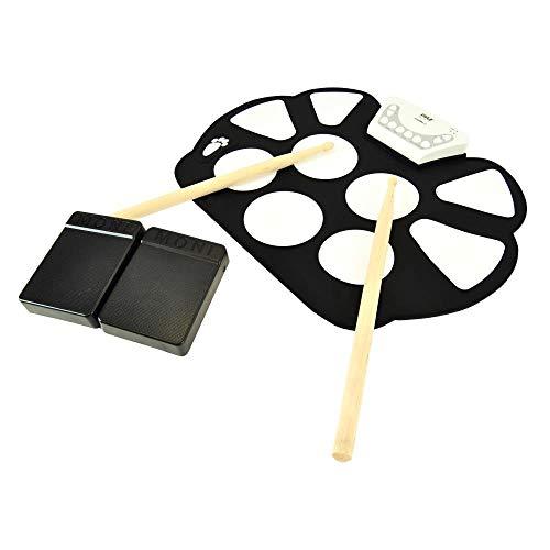 Roll Up Drum Kit de batería MIDI electrónica enrollable - W /...