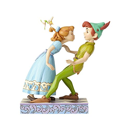 Disney Traditions An Unexpected Kiss - Peter Pan and Wendy figuur