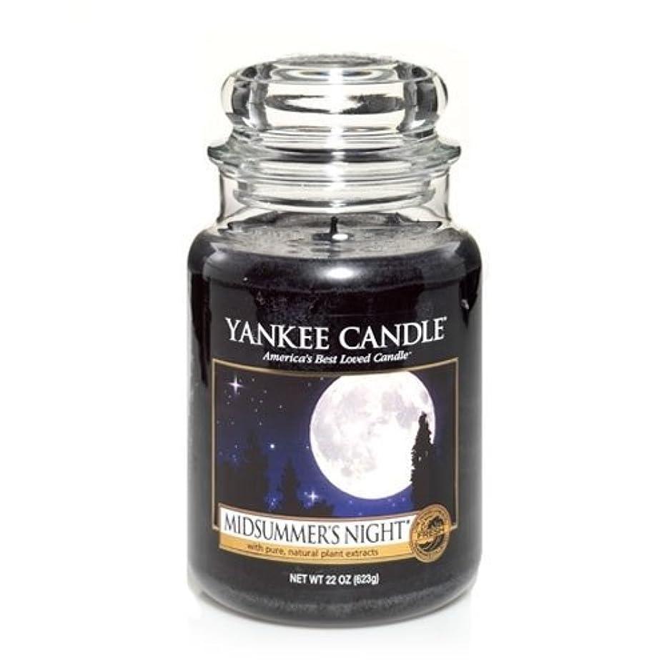 アラビア語直面する収益Yankee Candle Midsummer's Night Large Jar Candle, Fresh Scent by Yankee Candle [並行輸入品]