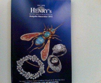 Henry's Sofortverkauf & Auktionen, Ausgabe November 2012