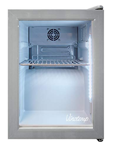 Vinotemp VT-SC03 24-Can Countertop Beverage Display Cooler, White