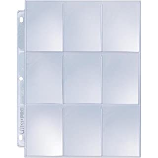 Ultra Pro 9-Pocket Silver Series Page Protector for Standard Size Cards (25-Count) (B005HIOVOG) | Amazon price tracker / tracking, Amazon price history charts, Amazon price watches, Amazon price drop alerts