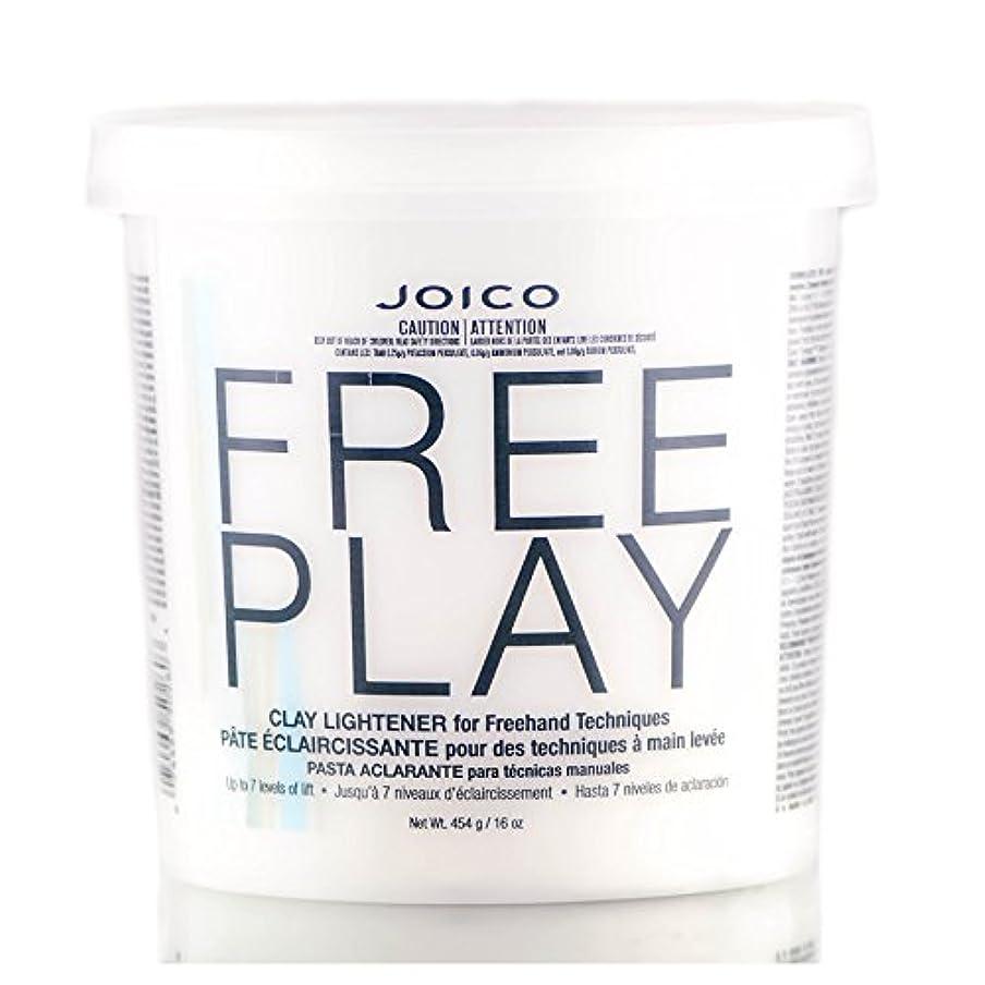 アジャ適用済み夜の動物園Freeplay by Joico ジョイコ無料リフトの7つのレベルまで、フリーハンドテクニックのためのクレイライトナーを再生)((なめらかな色合いブラシを含んでいます) 16オンス/ 454グラム