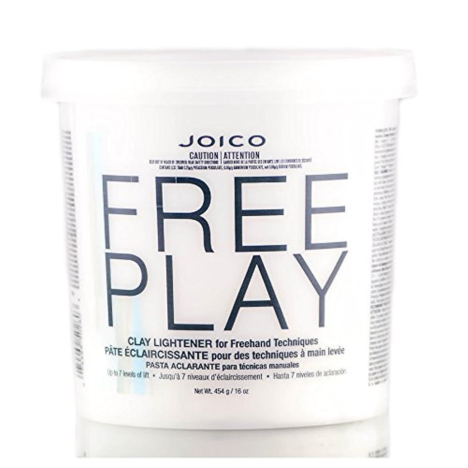 ダブルおもてなし貨物Freeplay by Joico ジョイコ無料リフトの7つのレベルまで、フリーハンドテクニックのためのクレイライトナーを再生)((なめらかな色合いブラシを含んでいます) 16オンス/ 454グラム