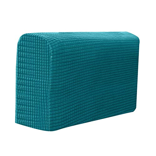 Helmay 2 Pcs Sofa Möbel Armlehnenbezüge Couch Chair Arm Protectors Stretchy für Zuhause