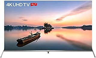 TCL L55T8SUS 55 Inch Flat Andriod 4K-UHD SMART TV - AI with Google assistant and Chrome Cast Built In - Metallic Frame