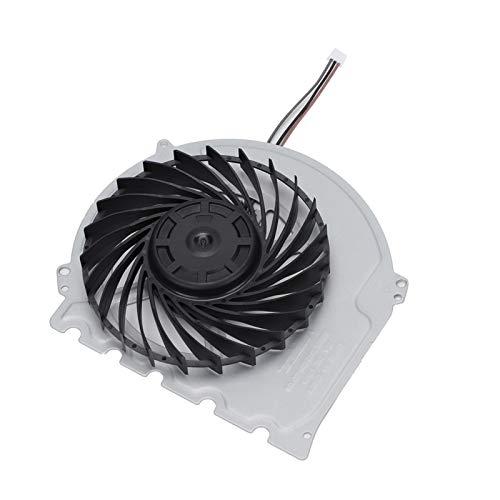 Demeras Ventilador de refrigeración de CPU Interno, Enfriador de Consola de Juegos, Ventilador Enfriador Original, Pieza de reparación de Repuesto para PS4 Slim 2000