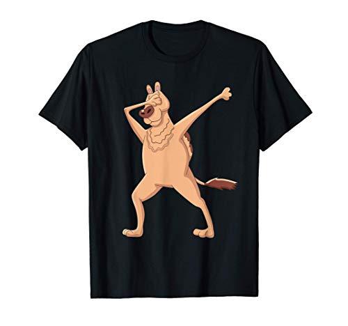 Kinder Dabbing Dromedar Kleidung Dab Dance Tanzendes Kamel T-Shirt