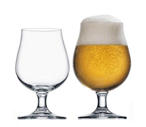 Stölzle Lausitz 0,3l Biertulpe der Serie Berlin, 300 ml, 6er Set, hoch Funktionelle Bier-Gläser, zeitlos Elegante Bier-Schwenker
