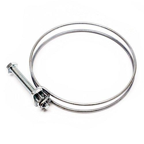 Collier de serrage double fil métal W1 60-65 mm 2.2 mm M6x60