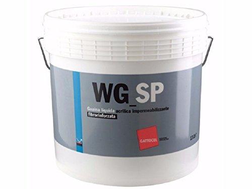 Guaina liquida bianca acrilica impermeabilizzante fibrorinforzata lt 13
