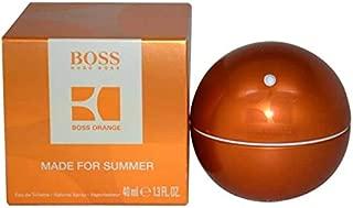 HUG0 B0SS IN MOTION ORANGE MADE FOR SUMMER FOR MEN EDT 1.3 0Z