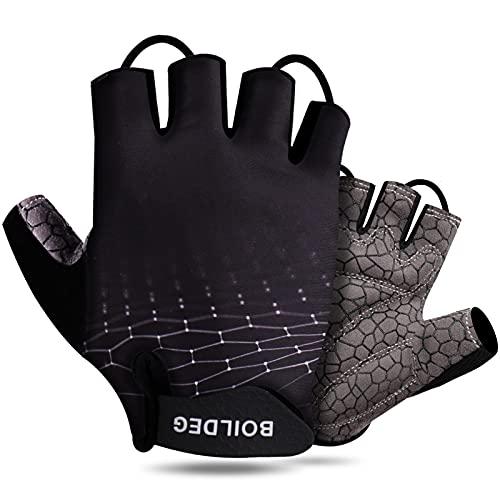 Cycling Gloves Bike Gloves Mountain Road Bike Gloves Anti-slip Shock-absorbing Half Finger Bicycle Biking Gloves for Men & Women