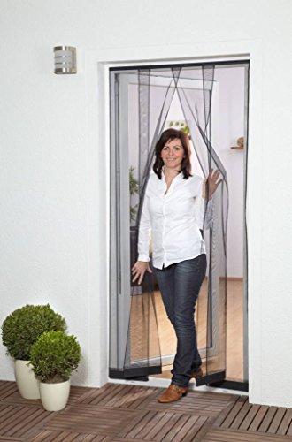 Culex 100410201-VH Fliegengitter Lamellenvorhang 100x220cm weiss 4tlg Filatec