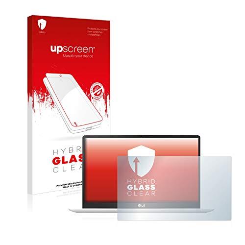 upscreen Hybrid Glass Panzerglas Schutzfolie kompatibel mit LG Gram 14