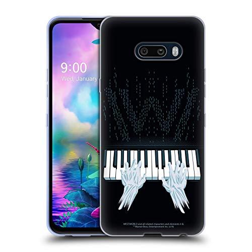 Head Case Designs Offizielle Westworld Piano Grafiken Soft Gel Handyhülle Hülle Huelle kompatibel mit LG G8X ThinQ