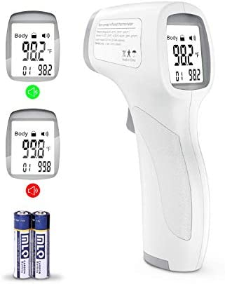 Forehead Thermometer for Adults Infrared Head Thermometer for Adults and Kids Touchless Thermometer product image