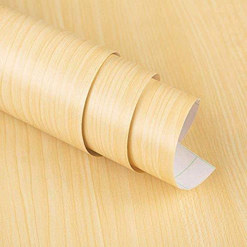 AYCPG Pegatinas de pared para muebles de dormitorio, desmontables para pelar y pegar rollos de papel pintado, muebles, cajón, armario, aparador, 40 x 500 cm