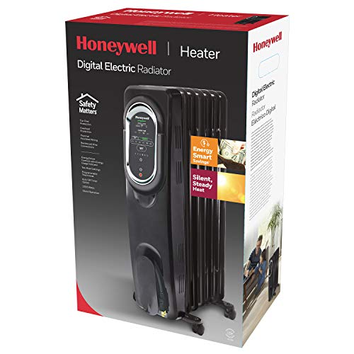 Honeywell HZ-789 EnergySmart Electric Oil Filled Radiator Whole Room Heater