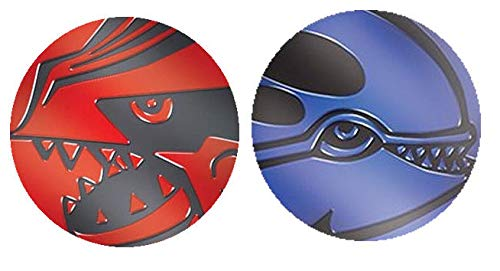 Generisch Kyogre & Groudon Official Pokemon Flip Coins (Twinpack)