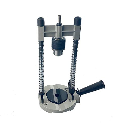 HFS(R) Drillmate Drill Guide with Chuck Adjustable Angle Drill Holder Guide Stand Positioning Bracket for Electric Drill