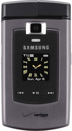 Samsung_Alias_u740 (Titanium) with Qwerty Keyboard, 2.0 Megapixel- Camera, - Bluetooth Capable - 1XEVDO CDMA 2000 for Verizon Network (No Contract Required_A P E X GLOBAL WIRELESS)