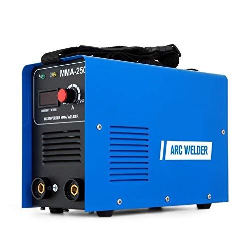 Lasser Multi-functie ARC MMA Welder 250AMP DC 220V IGBT Inverter Lasmachine ARC MMA Stick Portable Welder Machine Lasapparaat (Color : MMA-250, Size : 220V)