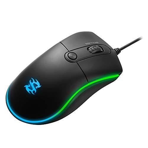 Sharkoon Skiller SGM2 RGB Gaming Maus, optisch 6400 DPI, Ergonomische Form Mehrfarbig