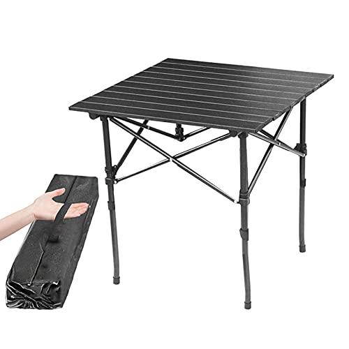 Niazi Mesa plegable portátil aleación de aluminio camping al aire libre picnic barbacoa mesa noche mercado exposición