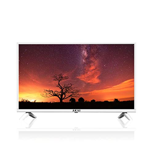 AKAI TV AKTV3226J USB TVC LED 32', HD Ready, Bianco