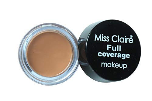 Miss Claire Full Coverage Makeup + Concealer #14, Brown, 6...
