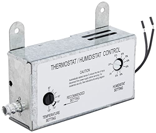 Iliving ILG-001TH Humidity and Thermostat Control Box, 8