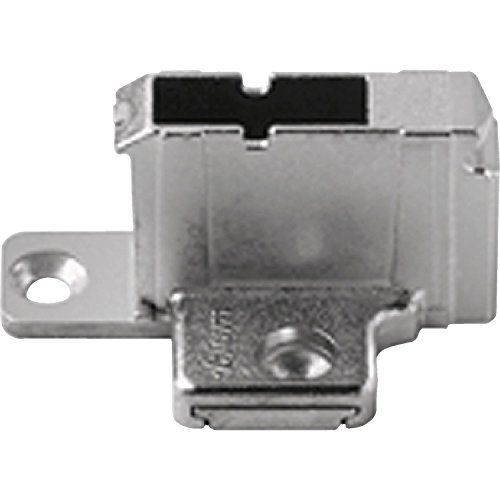 BLUM CLIP Kreuzmontageplatte, Spax-Schrauben, HV: 2-teilig, Distanz 18 mm