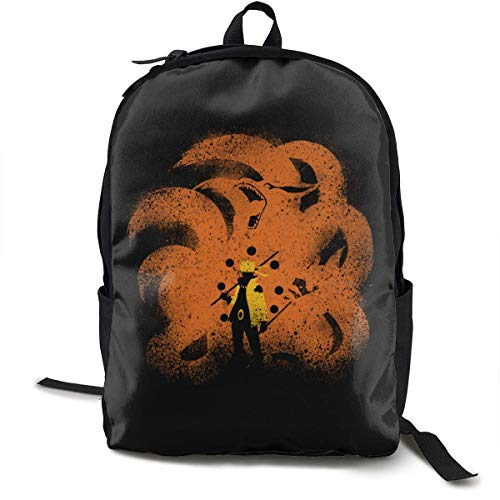 Rucksack Sechs Schwänze Jinchuriki Utakata Casual Anime Daypack Gedruckt Laptop Travel School School Book Studenten Rucksack Geschenk Für Teens Boys Girls